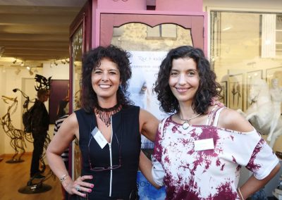 Lila Roz et Laëtitia Plinguet